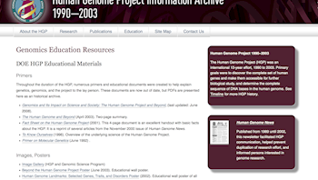 Human Genome Project Educational Resources